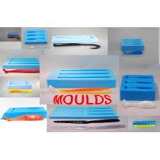 Silicone top pour molds