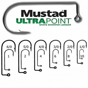 #1 Mustad Ultra Point Jig Hook