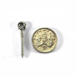 25mm Stainless steel Screw eyes