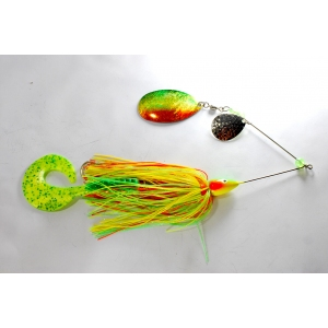 fire tiger 70g muskie spinnerbait 1232