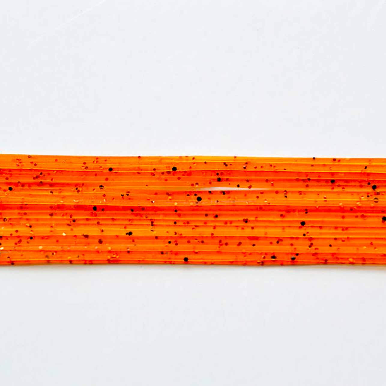 Orange with Orange and Black flake